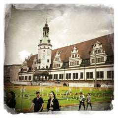Photo taken at Altes Rathaus by Vit F. on 6/28/2013