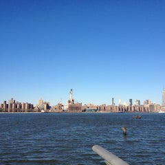 Photo taken at Williamsburg Waterfront by Steve P. on 1/27/2013