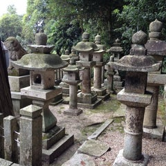 Photo taken at 平等寺春日神社 by K.Watch on 10/6/2012