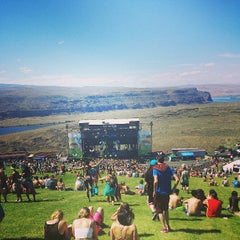 Photo taken at The Gorge Amphitheatre by Cassidy Q. on 6/28/2013