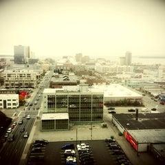 Photo taken at Sheraton Anchorage Hotel & Spa by Damon H. on 10/13/2012