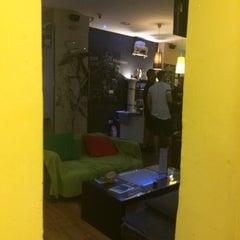Photo taken at Feel Malaga Hostel by Alejandra M. on 7/3/2015