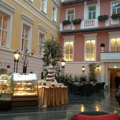 Photo taken at Belmond Grand Hotel Europe / Гранд Отель Европа by Christina B. on 2/24/2013