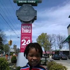 Photo taken at Krispy Kreme Doughnuts by Marcus M. on 4/28/2014