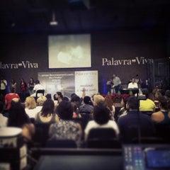 Photo taken at Igreja Batista Palavra Viva by Paulo Ricardo T. on 12/5/2012