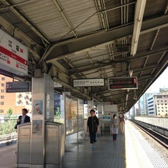 Photo taken at 江坂駅 (Esaka Sta.) (M11) by Tsuyoshi I. on 6/29/2013
