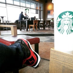 Photo taken at Starbucks by Meghan H. on 1/10/2015