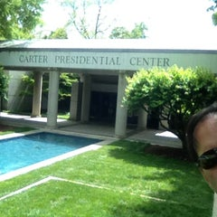 Photo taken at Jimmy Carter Presidential Library & Museum by DJ A. on 5/7/2013