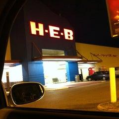 Photo taken at H-E-B by Bella L. on 1/27/2013