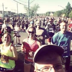 Photo taken at Bolder Boulder 10K Race by Matt M. on 5/27/2013