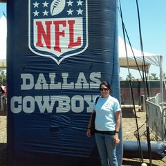 Photo taken at Dallas Cowboys Training Camp by Shannon R. on 8/12/2014