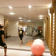 Photo taken at CMG SPORTS CLUB One Palais Royal by H. C. on 10/5/2014