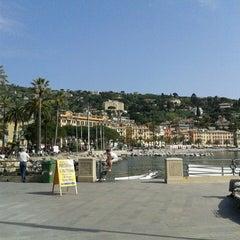 Photo taken at Lungomare di Santa Margherita Ligure by Carmela B. on 4/25/2013