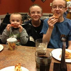 Photo taken at Pizza Ranch by Neva A. on 2/3/2013