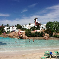 Photo taken at Disney's Blizzard Beach Water Park by HIK on 5/5/2013