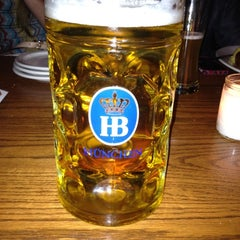 Photo taken at Hofbräu Bierhaus NYC by Brittany W. on 1/5/2013