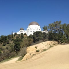 Photo taken at Griffith Park Trail by Nicole S. on 3/12/2013