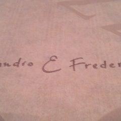 Photo taken at Alessandro & Frederico Pizzaria D.O.C.G by Carolina Maia A. on 5/27/2013
