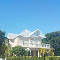 Photo taken at The Southernmost House by Daniel A. on 2/16/2015
