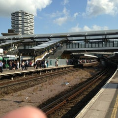 Photo taken at East Croydon Railway Station (ECR) by Martial B. on 7/4/2013