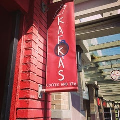 Photo taken at Kafka's Coffee & Tea by Liam S. on 6/1/2014