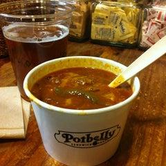 Photo taken at Potbelly Sandwich Shop by Fredrik L. on 12/24/2012