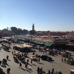 Photo taken at Place Jemaa el-Fna | ساحة جامع الفناء by vexerina C. on 12/16/2012