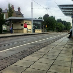 Photo taken at Beechwood Luas by Felipe R. on 8/8/2013