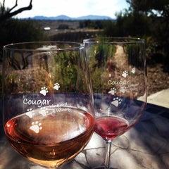 Photo taken at Cougar Vineyard & Winery by Erin G. on 2/16/2014