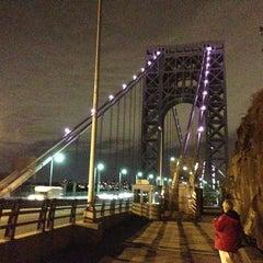 Photo taken at George Washington Bridge by Paul M. on 10/11/2013