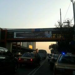 Photo taken at Metro Viaducto (Línea 2) by Arturo M. on 12/21/2012