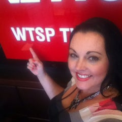 Photo taken at WTSP Channel 10 by Bobbie K. on 3/26/2014