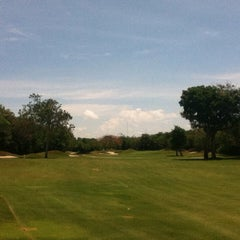 Photo taken at Campo de Golf Playacar by Juan T. on 5/26/2013