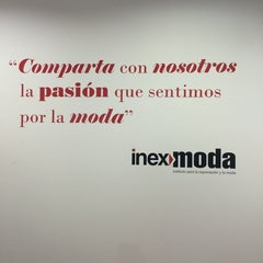 Photo taken at Inexmoda, Instituto para la Exportación y la Moda by Liliana F. on 5/6/2014