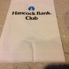 Photo taken at Hancock Bank Club by Feddly J. on 5/8/2014