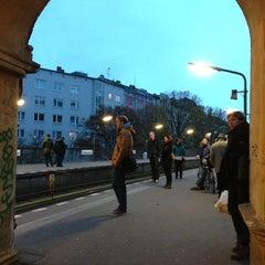 Photo taken at U Schlesisches Tor by Uwa S. on 11/4/2012
