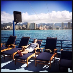 Photo taken at Waikiki Ocean Club by Jerry C. on 3/18/2014