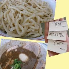 Photo taken at 麺屋白頭鷲 by Ichiro on 1/11/2014