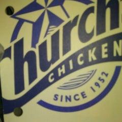 Photo taken at Church's Chicken by Ferdie D. on 3/28/2013