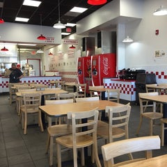 Photo taken at Five Guys by Fatih O. on 10/17/2014