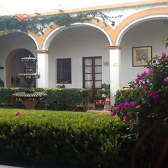 Photo taken at Posada Del Virrey by Tatiane M. on 10/31/2012