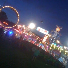 Photo taken at Ionia Fairgrounds by Mark B. on 7/18/2013