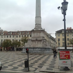 Photo taken at Rossio by Sergo M. on 3/8/2013