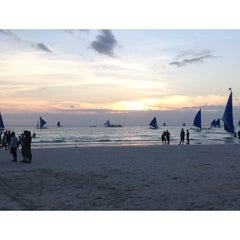 Photo taken at Boracay Island by Keng B. on 10/20/2013