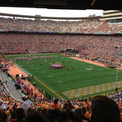 Photo taken at Neyland Stadium by Greg S. on 8/31/2013