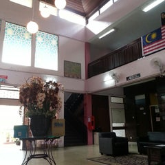 Photo taken at Kolej Ungku Omar by Eleena Z. on 12/28/2014