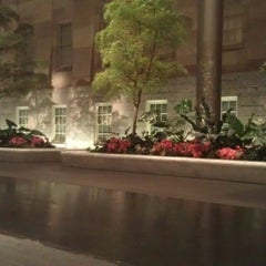 Photo taken at Kogod Courtyard by Yasha M. on 1/14/2013