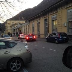 Photo taken at Stazione di Bellinzona by Stefano S. on 12/7/2013