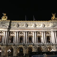 Photo taken at Place de l'Opéra by Jeremie G. on 10/16/2012