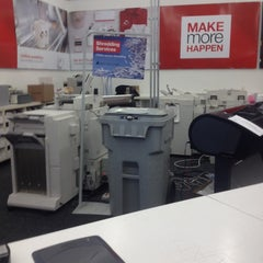 Photo taken at Staples by Mark P. on 6/2/2014